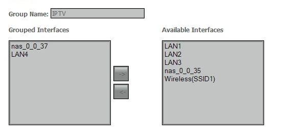 Настройка модема Dlink-2640 под IPTV